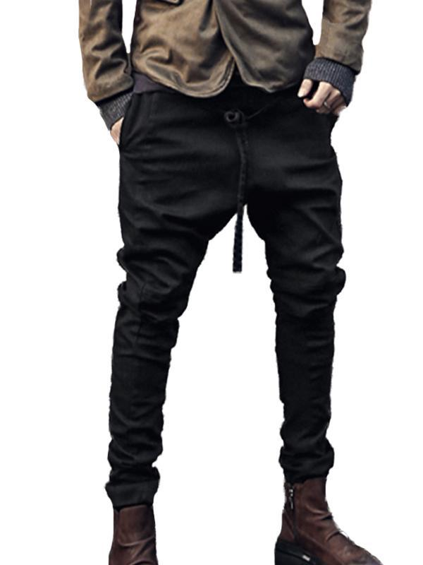 Men Solid Casual Pant