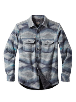 Men Tie-Dye Striped Casual Long Sleeve Shirt