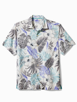 Men Beach Print Hawaiian Leisure Holiday Lapel Shirt