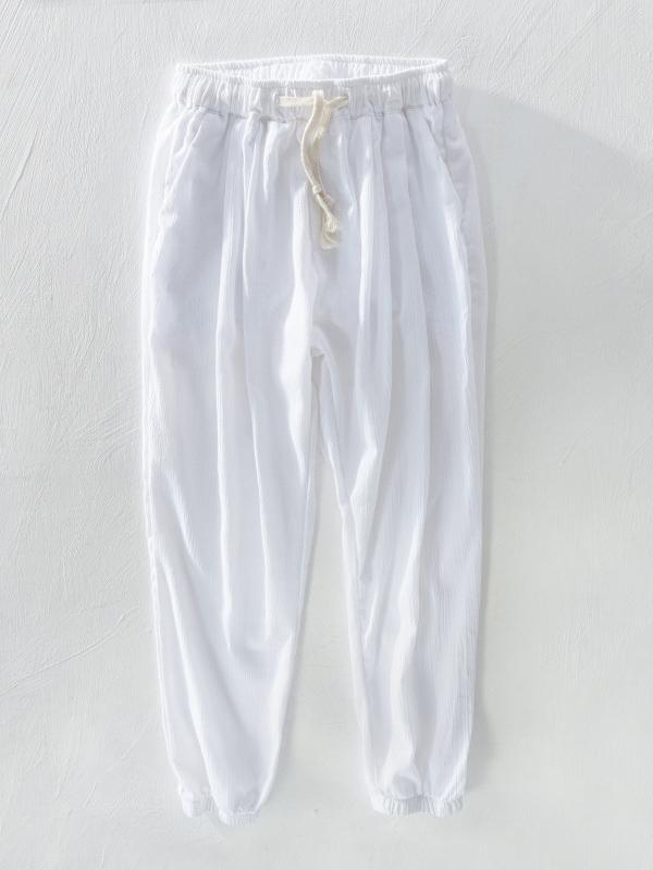 Men Casual Linen Bloomers&Harem Pants
