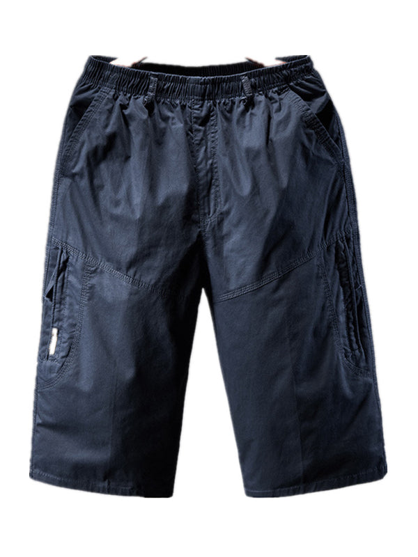 Men's Sports Solid Casual Shorts