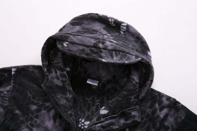 Men Camouflage Hooded Casual Jacket