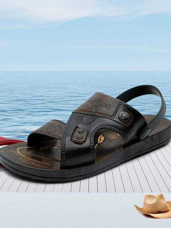 Men Casual Flat Breathable Flat Sandal