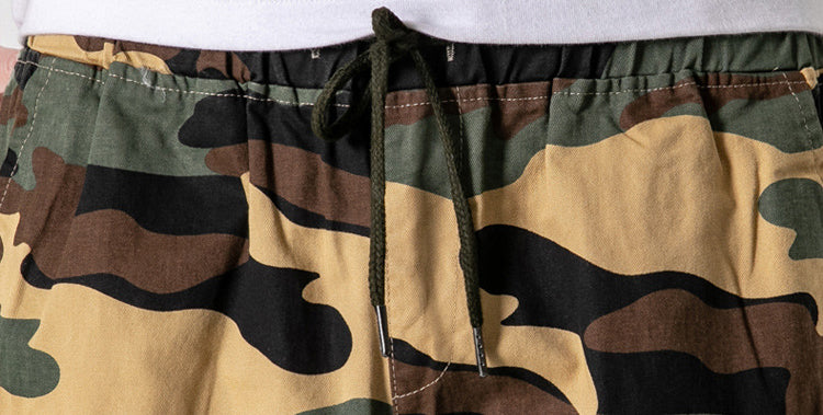 Men's Thin Camouflage Sport Loose Casual Shorts