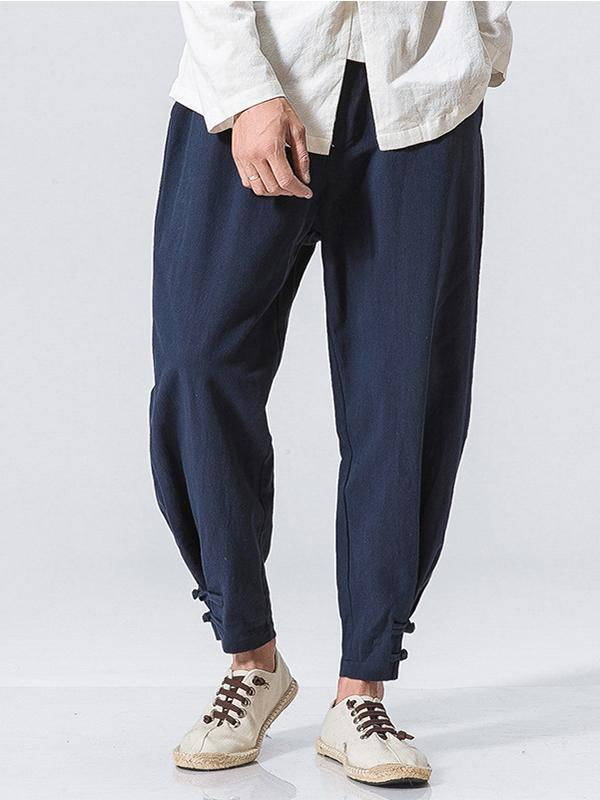 Men Tapered Loose Pants