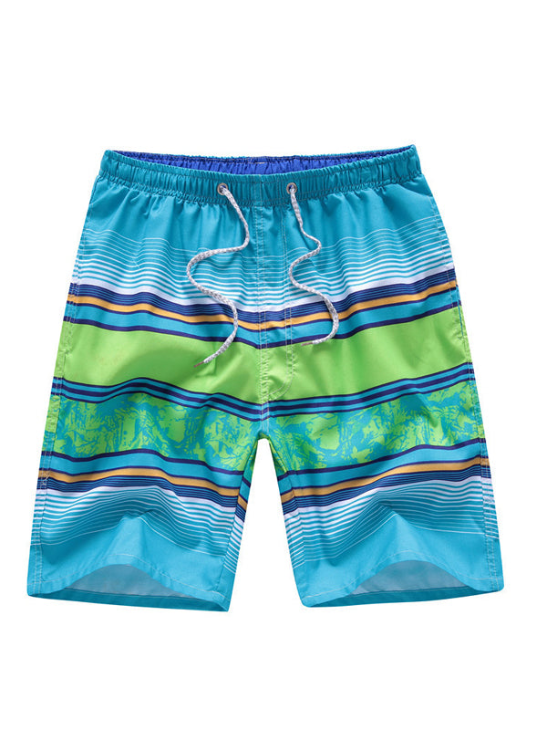 Men's Summer Printed Beach Style Shorts