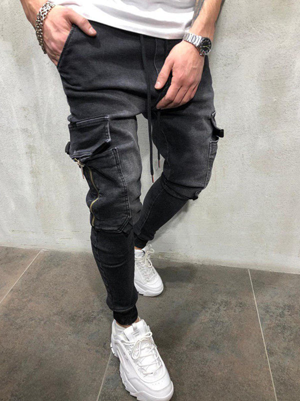 Men Casual Sports Jeans