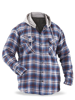 Men's Casual Long Sleeve Plaid Shirt