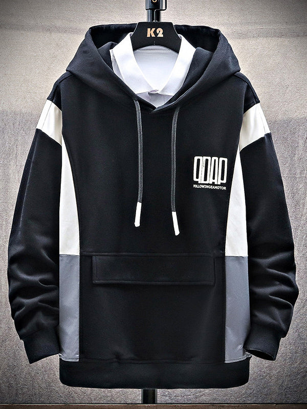 Men's Casual Hooded Long Sleeve Hoodie
