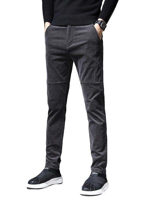 Winter Men Plus Cashmere Fashion Jeans Pant