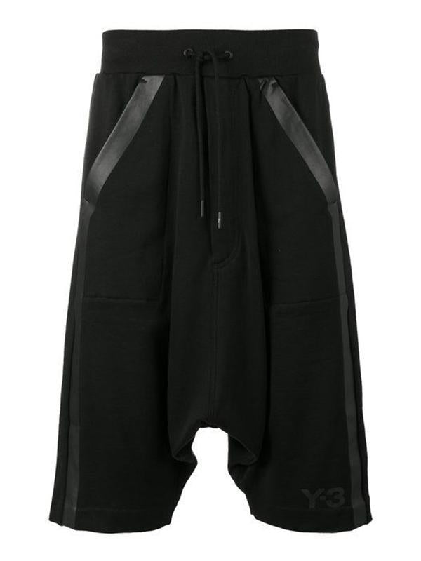 Men Oversized Solid Sport Shorts