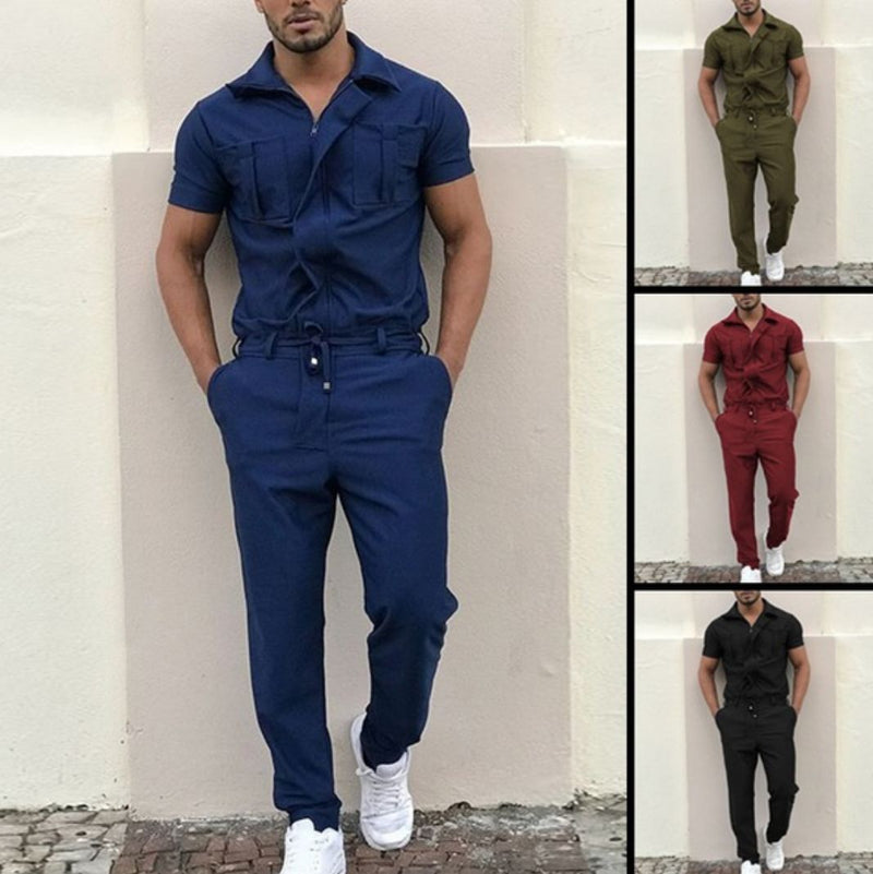 Men Siamese Casual Overalls