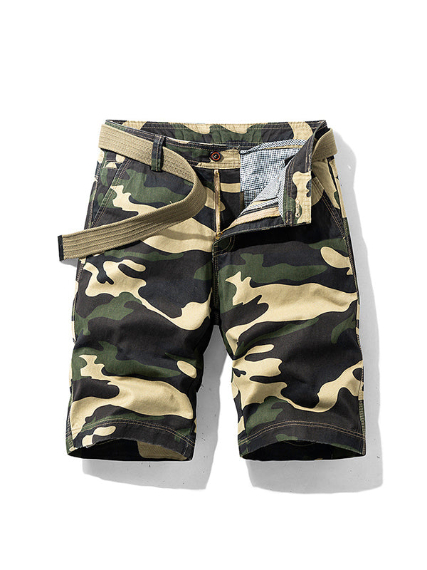 Men Camouflage Casual Sport Loose Shorts