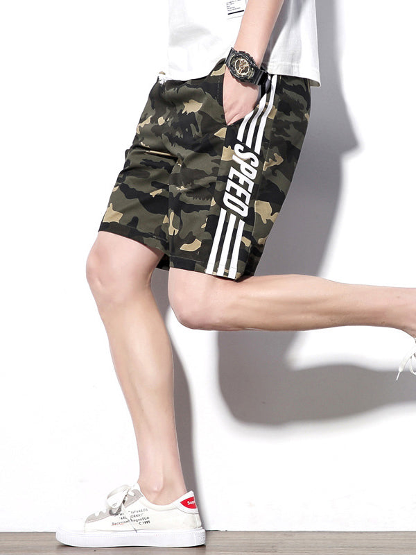 Men Casual Camouflage Fashion Shorts