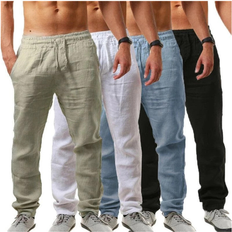 Men Casual Hip-Hop Breathable Track Pants