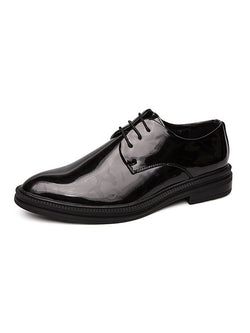 Men Low-Cut Upper Pure PU Shoes