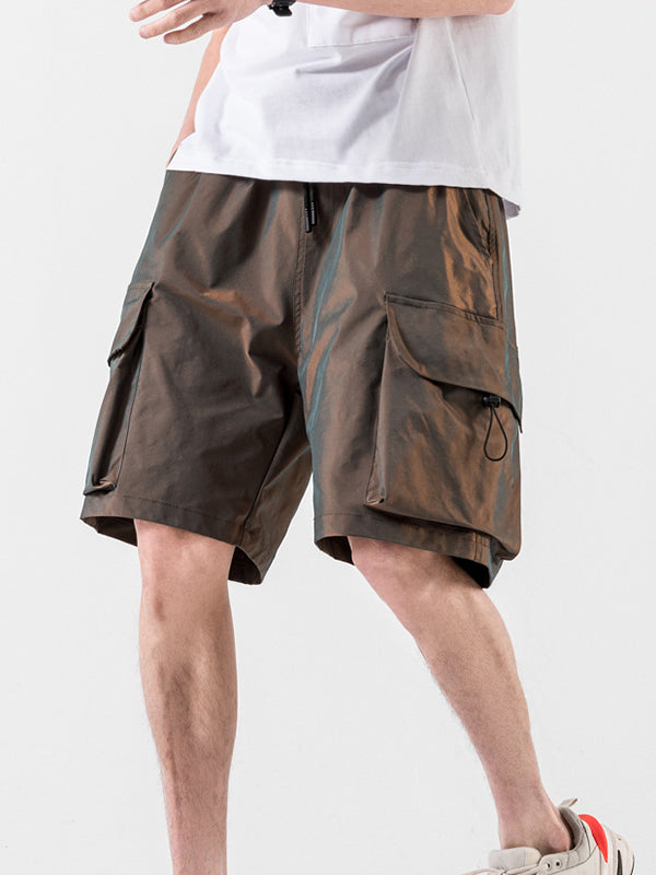 Men's Street Tide Brand Straight Tooling Casual Shorts