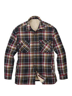 Men Plaid Lapel Casual Shirt