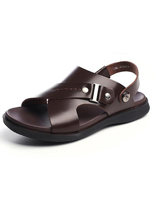 Mens Summer Casual Platform Sandals