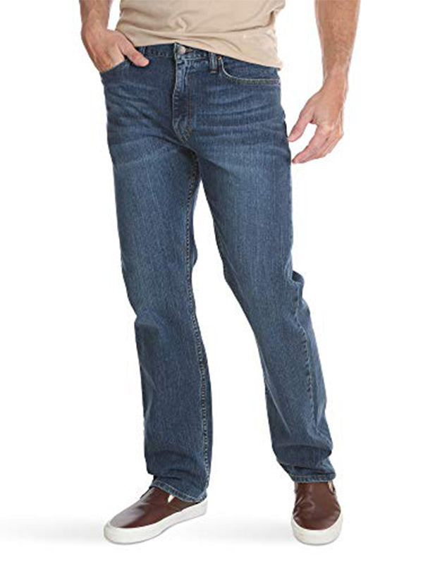 Men Classic Pocket Regular Fit Flex Jean