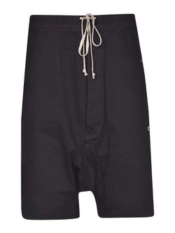 Men Oversized Drop-Crotch Shorts