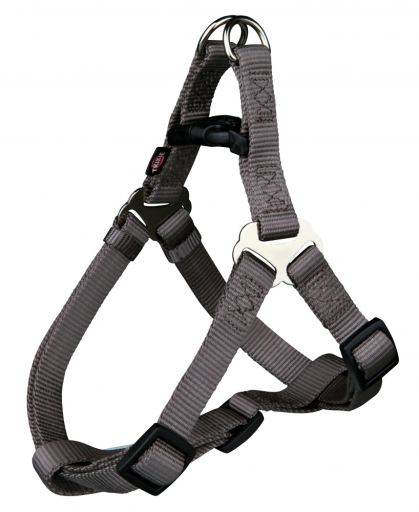 20476 Premium One Touch harness, XL: 80–100 cm/25 mm, taupe