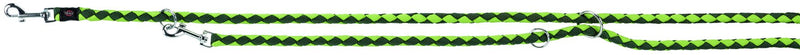 143519 Cavo adjustable leash, S-M: 2.00 m/diam. 12 mm, forest-apple