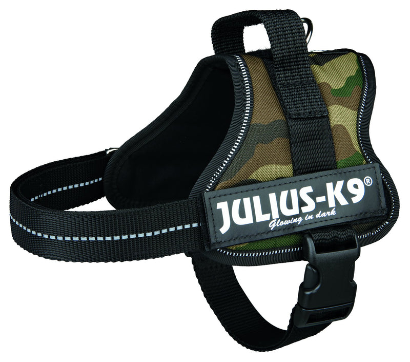 150221 Julius-K9 Powerharness, Mini/M: 51-67 cm, camouflage