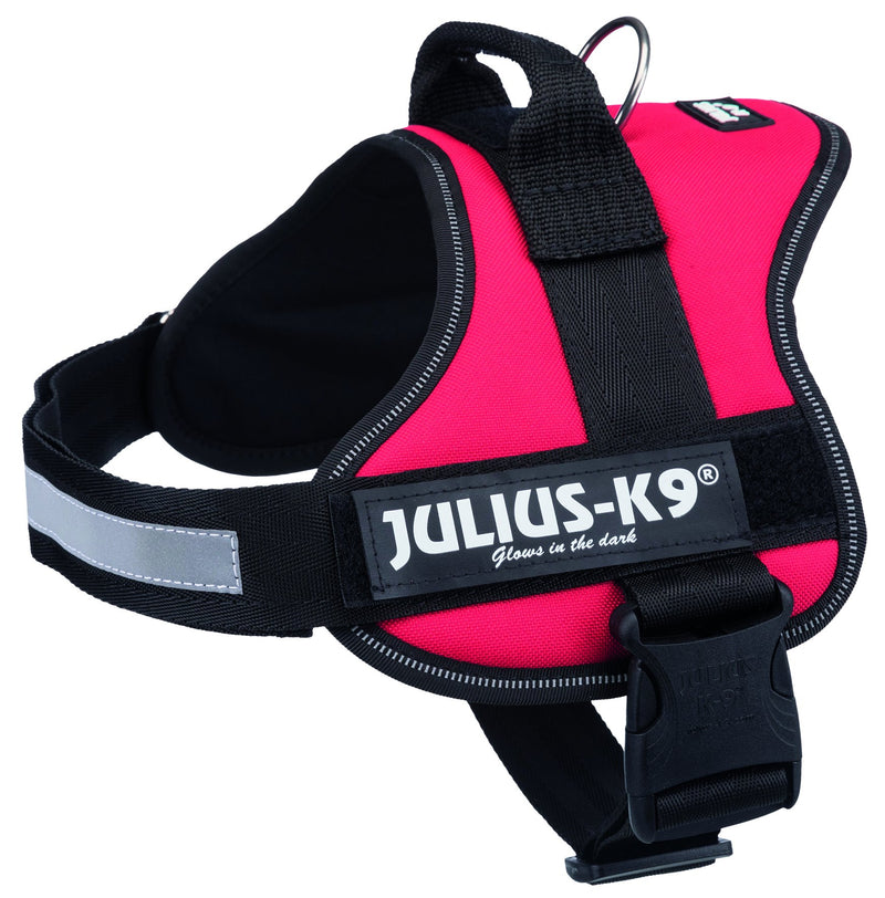 150303 Julius-K9 Powerharness, 0/M-L: 58-76 cm, red