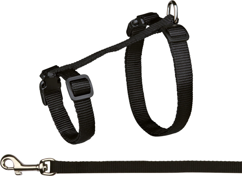 41960 Cat harness with leash, XL, nylon, 34–57 cm/13 mm, 1.20 m