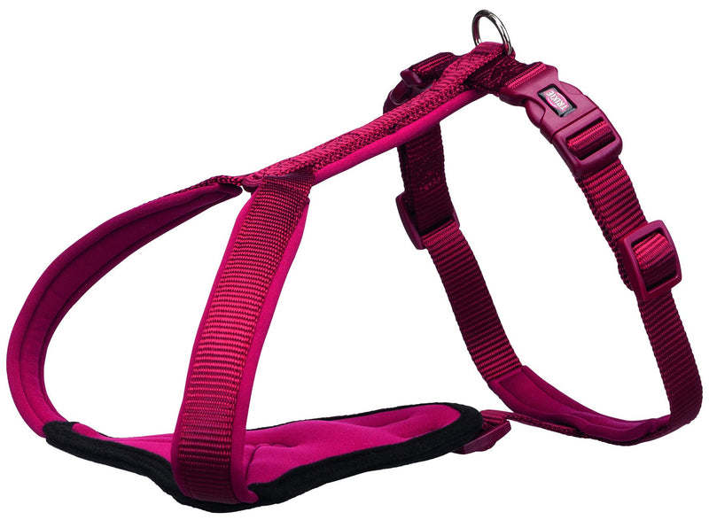 1998800 Premium Y-harness, L–XL: 80–95 cm/25 mm, burgundy