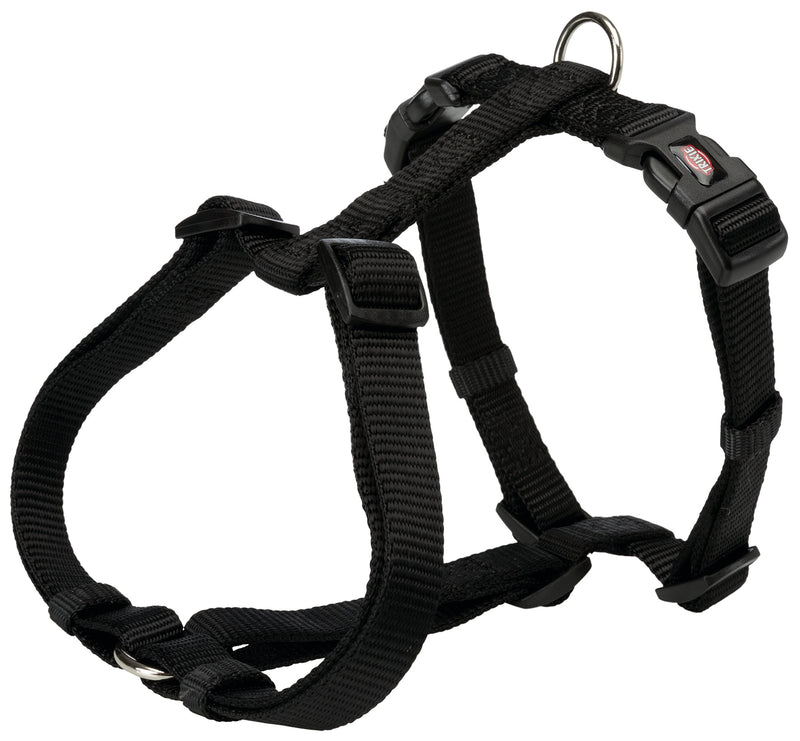 204801 Premium H-harness, XXS-XS: 20-32 cm/10 mm, black