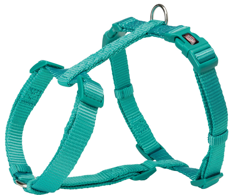 204912 Premium H-harness, L: 60-87 cm/25 mm, ocean