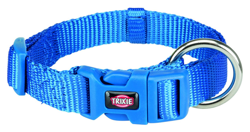 201502 Premium collar, S-M: 30-45 cm/15 mm, royal blue