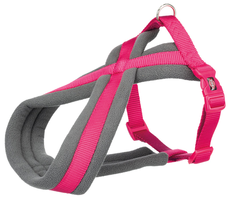 203611 Premium touring harness, XS-S: 30-55 cm/15 mm, fuchsia