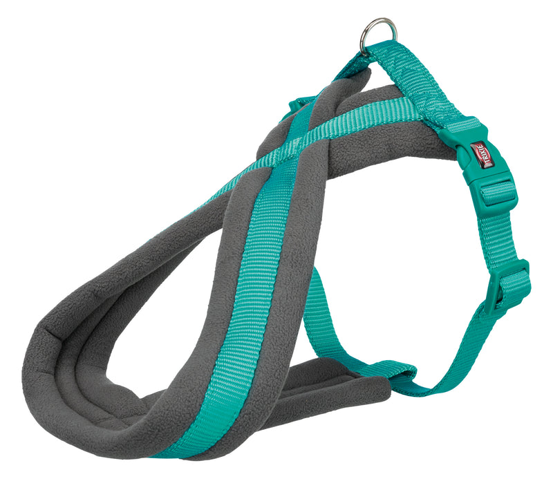 203612 Premium touring harness, XS-S: 30-55 cm/15 mm, ocean