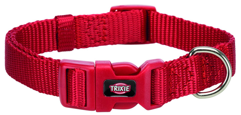 202203 Premium collar, S: 25-40 cm/15 mm, red
