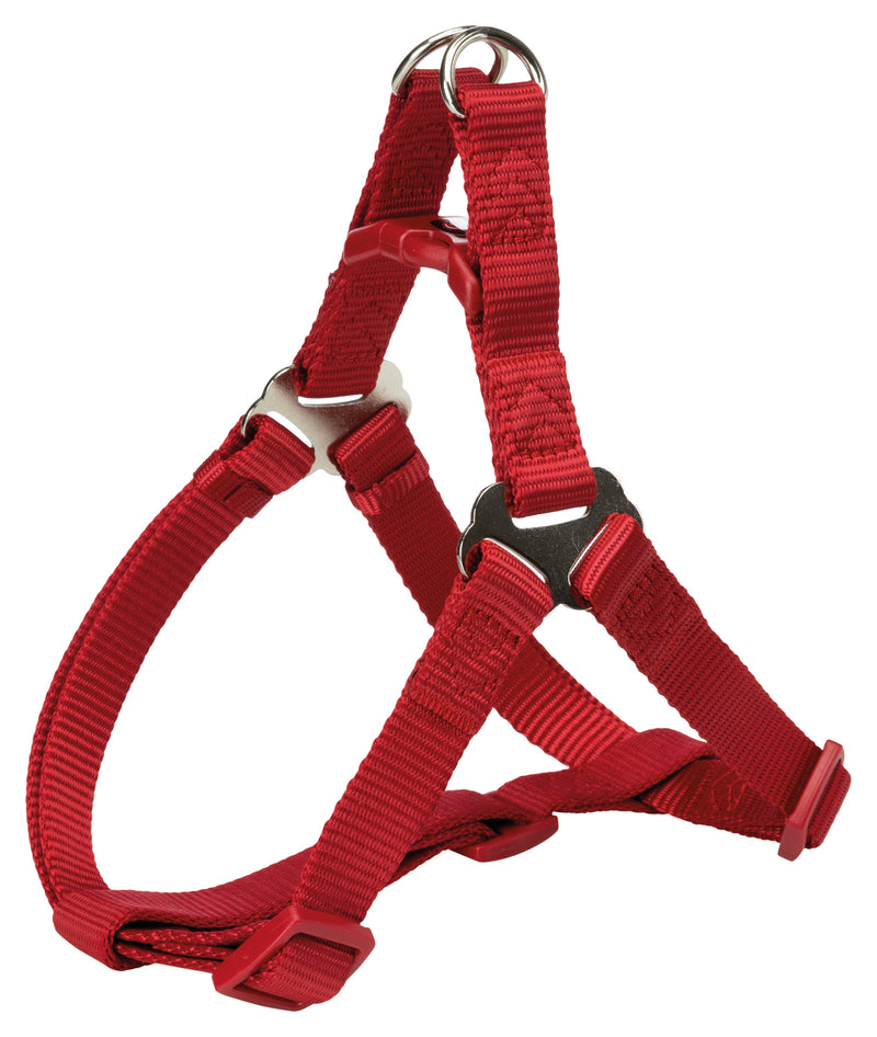 204603 Premium One Touch harness, L: 65-80 cm/25 mm, red