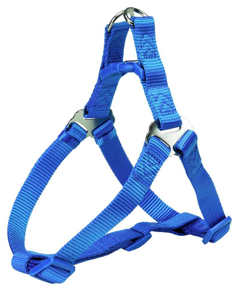 204502 Premium One Touch harness, M: 50-65 cm/20 mm, royal blue