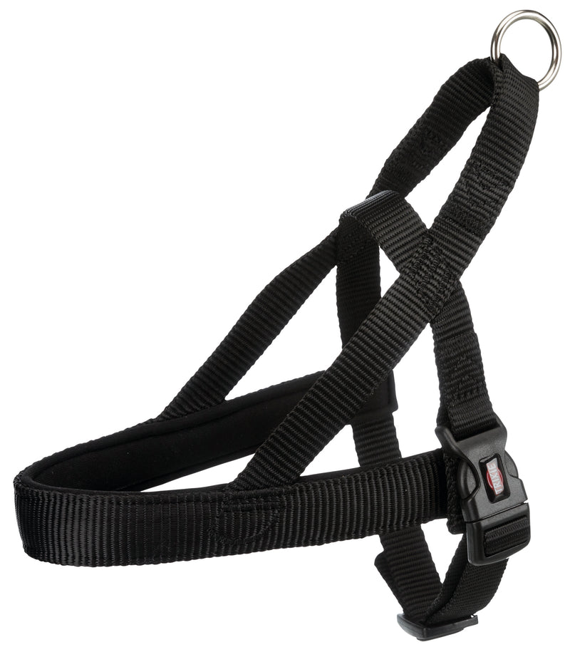 205101 Premium norwegian harness, S-M: 30-50 cm/25 mm, black