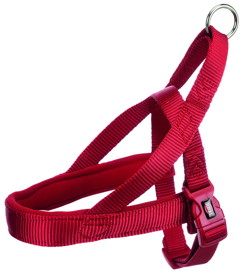 205103 Premium norwegian harness, S-M: 30-50 cm/25 mm, red