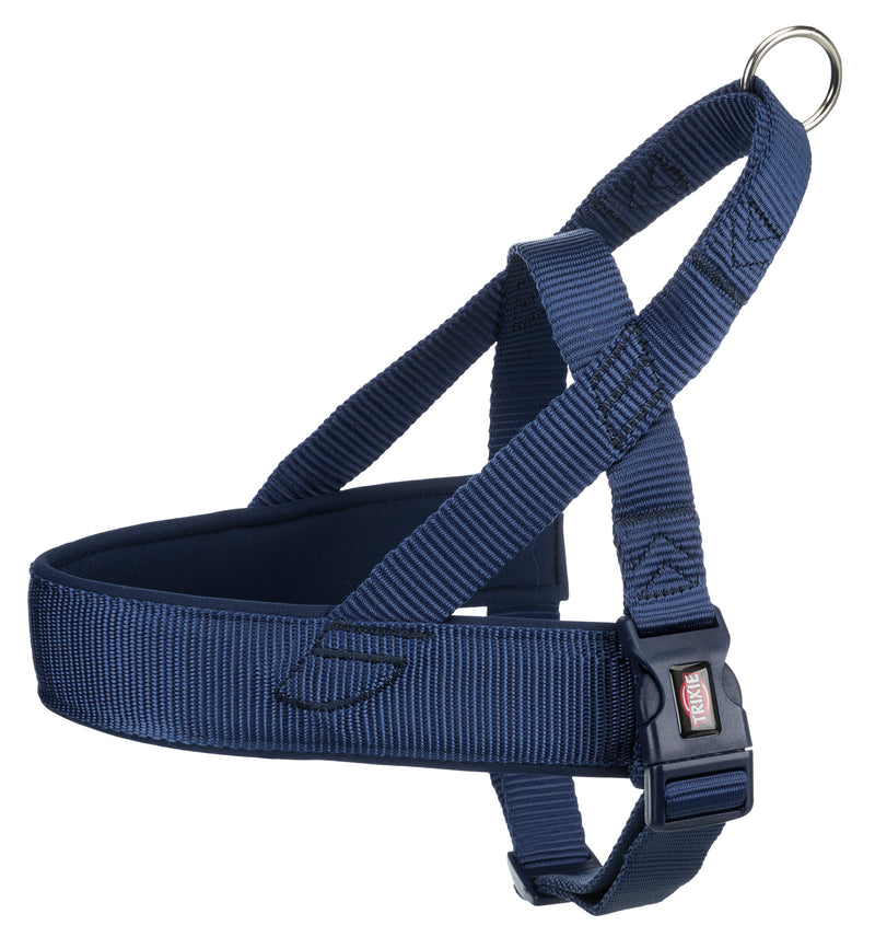 205413 Premium norwegian harness, L-XL: 68-88 cm/50 mm, indigo