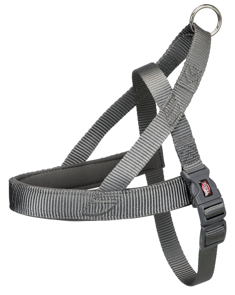 205516 Premium norwegian harness, XL: 78-100 cm/50 mm, graphite