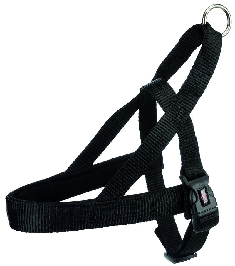 205201 Premium norwegian harness, M-L: 53-66 cm/40 mm, black