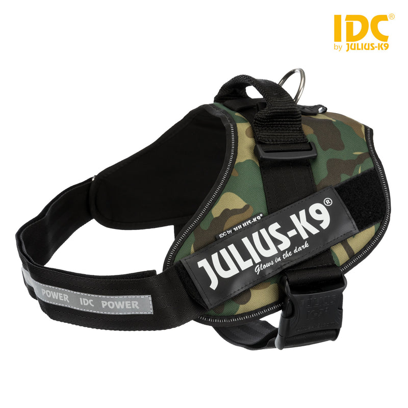14864 Julius-K9� IDC Powerharness, 2/L-XL: 71-96 cm/50 mm, camouflage