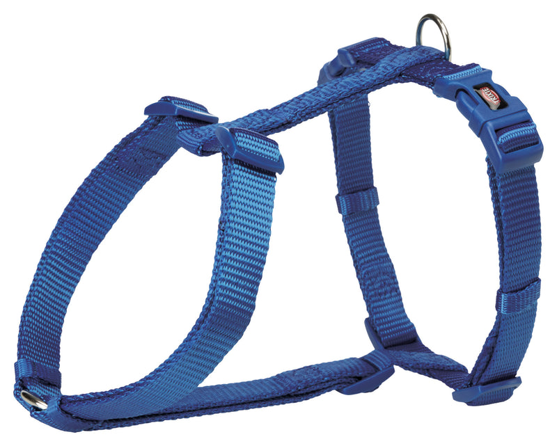 203402 Premium H-harness, M-L: 52-75 cm/20 mm, royal blue