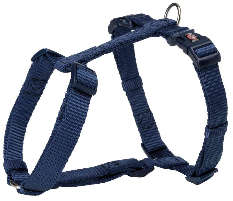 203413 Premium H-harness, M-L: 52-75 cm/20 mm, indigo