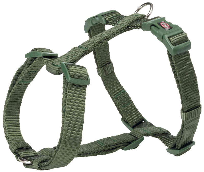 203319 Premium H-harness, S-M: 42-60 cm/15 mm, forest