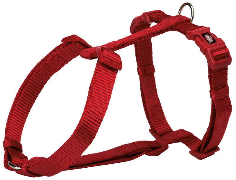 203203 Premium H-harness, XS-S: 30-44 cm/10 mm, red