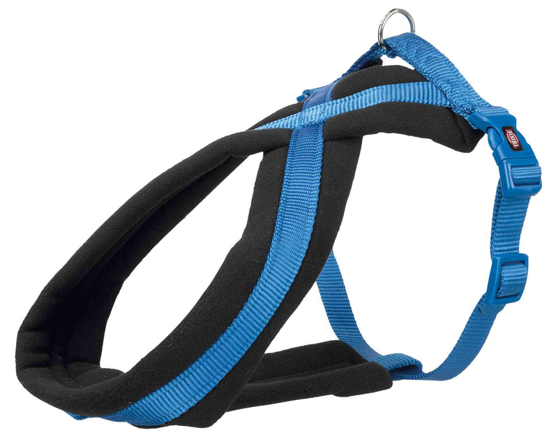 204102 Premium touring harness, L: 60-100 cm/25 mm, royal blue